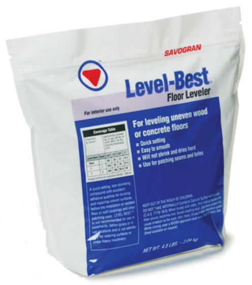 Savogran 12832 Level-Best® Floor Leveler & Repair, 4.5 Lb