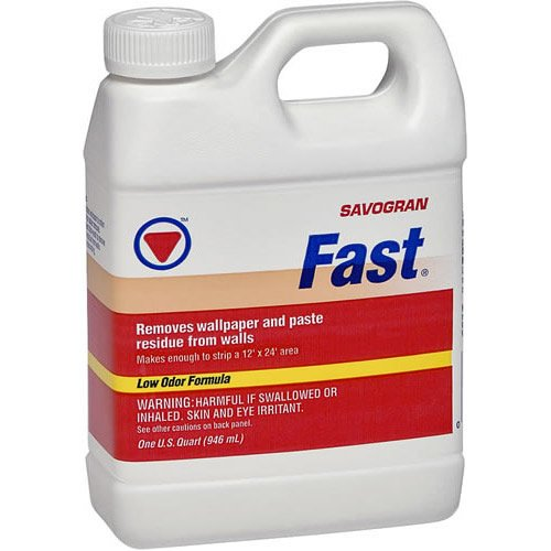Savogran 10772 Fast® Wallpaper & Paste Remover, 1 Qt