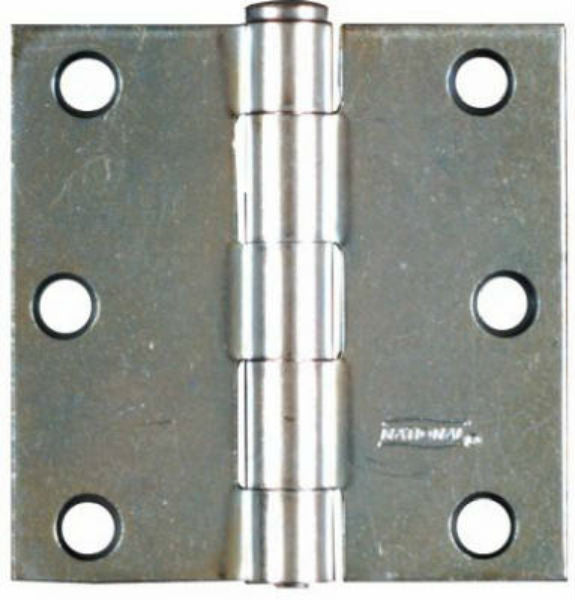 "National Hardware® N195-651 Removable Pin Broad Hinge, 3"", Zinc, 2-Pack"