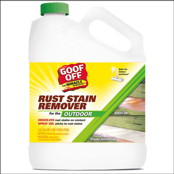 Goof Off® GSX00101 Rust Stain Remover, 1 Gallon
