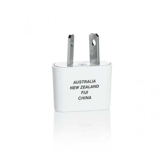Travel Smart® NW2C Adapter Plug For China Australia Fiji & New Zealand