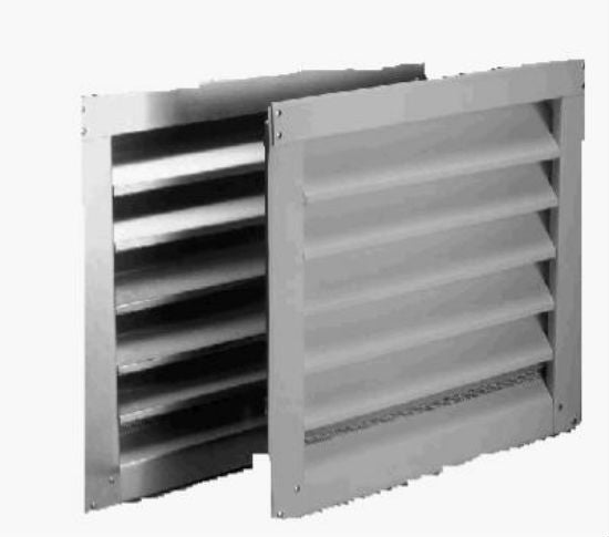 "Air Vent 81237 Aluminum Reversible Louver, 18"" x 24"", White"