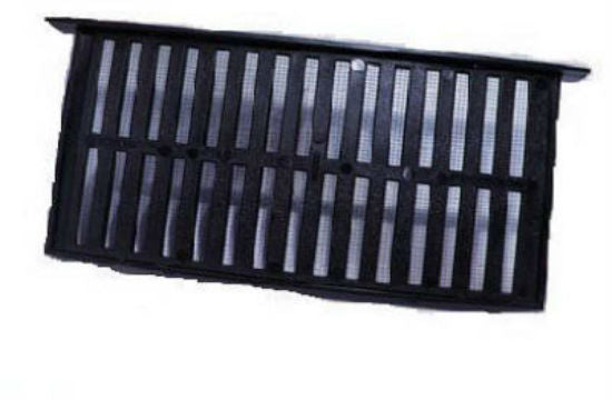 "Air Vent 93805 Plastic Foundation Vent with Slider, Black, 16"" x 8"""