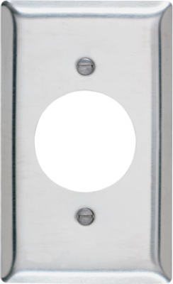 Pass & Seymour  Stainless Steel Wall Plate, 1 Gang