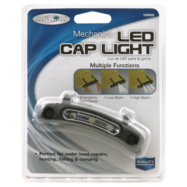 Custom Accessories 10800 Mechanic's LED Clip Cap Light