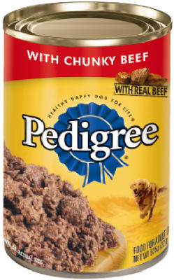 Pedigree 11006 Traditional Ground Beef Dinner, 22 Oz