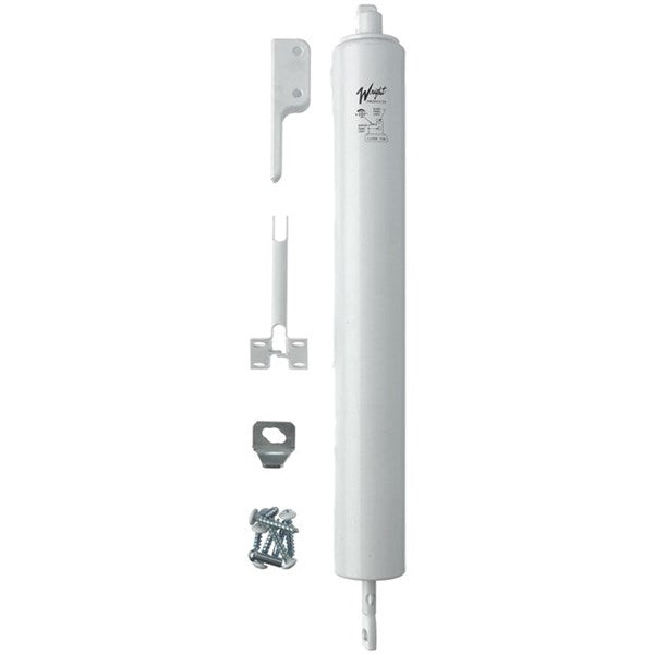 Wright Products™ V150WH Heavy Duty Pneumatic Storm & Screen Door Closer, White