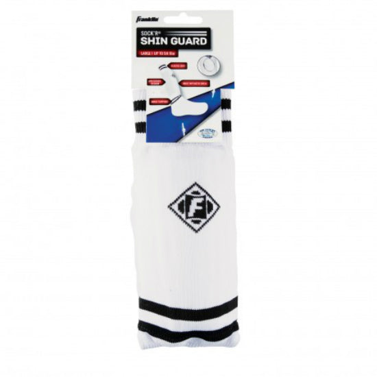 Franklin 5453S5 ACD-2 Sock'R Poly Peewee Shin Guards, Assorted Colors