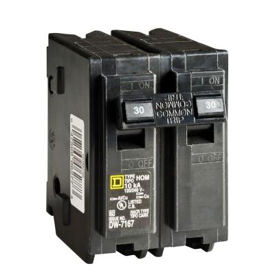 Double Pole Circuit Breaker 30 Amp