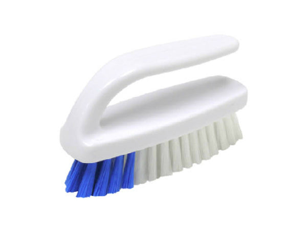 Quickie® 221 Hand & Nail Brush, Soft Polypropylene Fibers