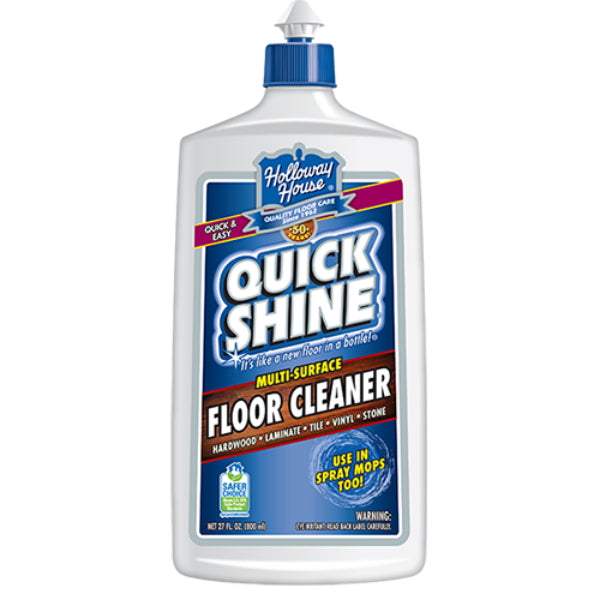Quick Shine® 11151-7 Multi-Surface Floor Cleaner, Fresh Burst Scent, 27 Oz