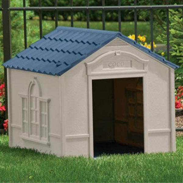 "Suncast® DH350 Deluxe Dog House, Large, 33"" x 38-1/2"" x 32"""