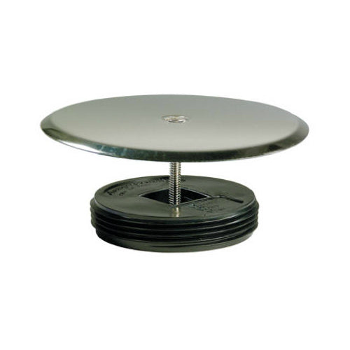 "Master Plumber 828-684 Stainless Steel Extended Drum Cap Cover, 5-1/4"" OD"