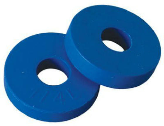 "BrassCraft SC2109 Flat Faucet Washer, Blue, 19/32"", 2-Pack"