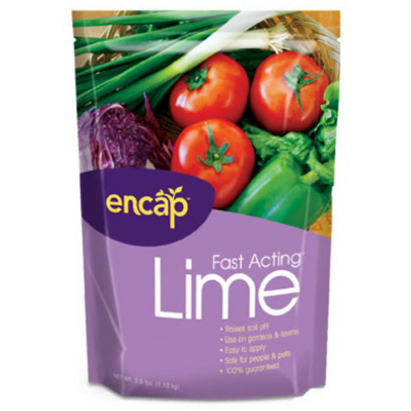 Encap® 10612-6 Fast Acting™ Lime with AST®, 400 Sq.ft. Coverage, 2.5 Lb