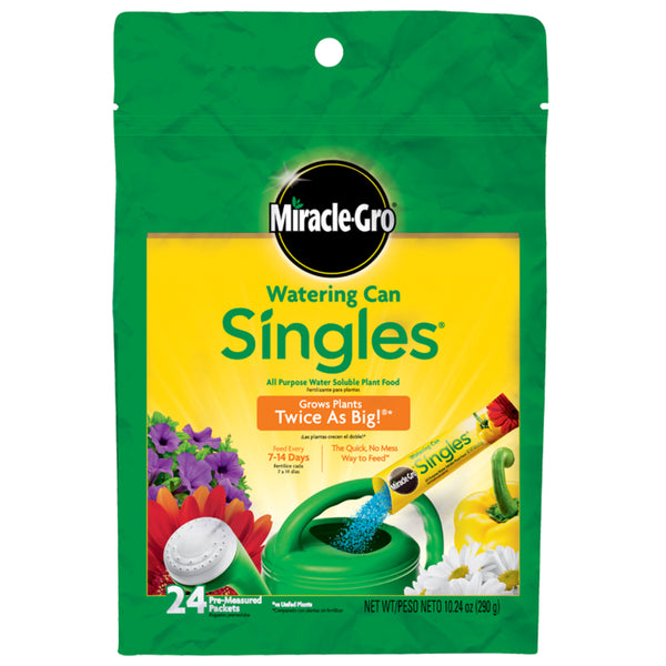 Miracle-Gro® 1013203 Singles® All Purpose Water Soluble Plant Food, 24-Sticks