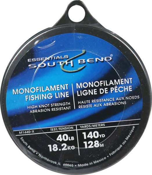 South Bend® M1440 Monofilament Fishing Line, 40 Lbs Test, 140 YD