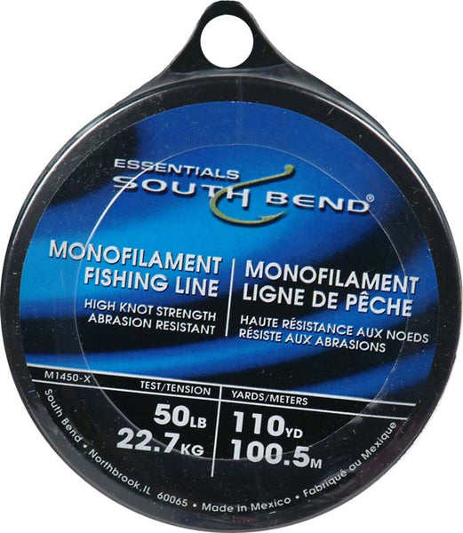 South Bend® M1450 Monofilament Fishing Line, 50 Lbs Test, 110 YD