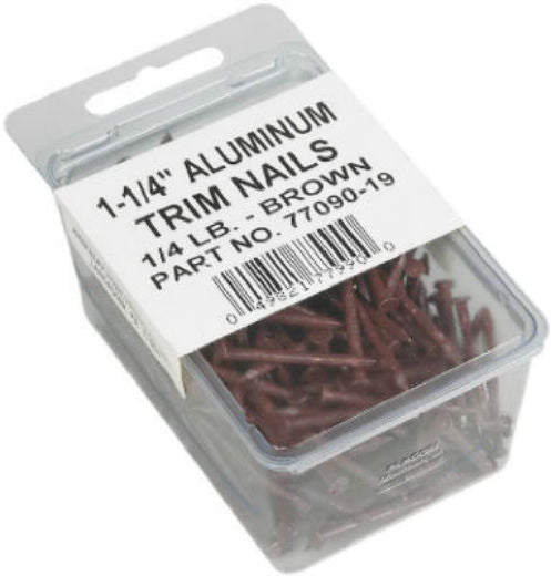 "Amerimax 7709019 Trim Nails, 1-1/2"", Brown"