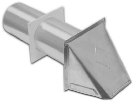 Lambro 344S Aluminum Preferred Dryer Hood Vent, 4""
