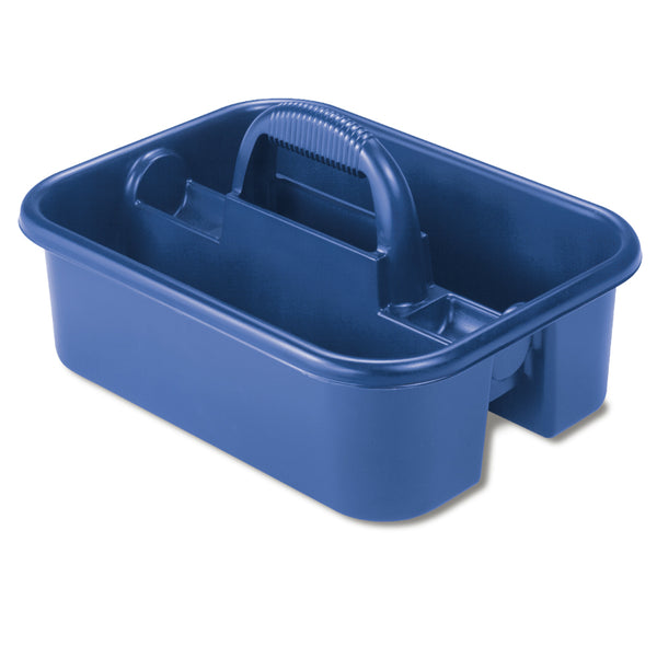 Akro Mils® 09185 Tool Caddy with Comfortable Grip, 2,200 Cu. In. Capacity, Blue