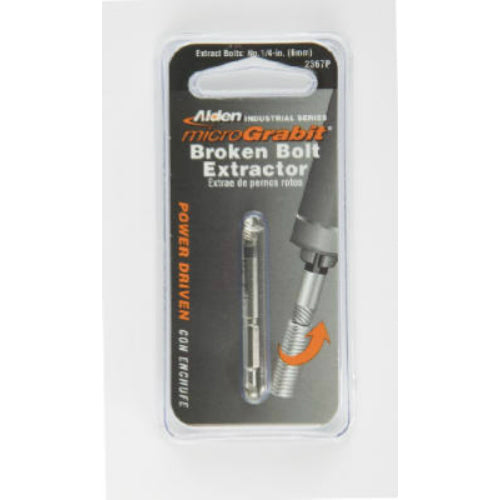 Alden 1907P MicroGrabit® Broken Bolt Extractor,  #10 & #12