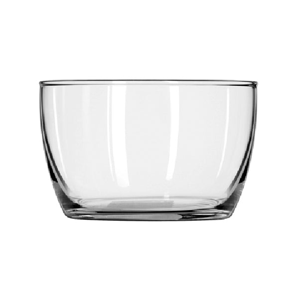 Libbey® Glass 70300 Glass Storage Bowl with Plastic Lid, 16 Oz