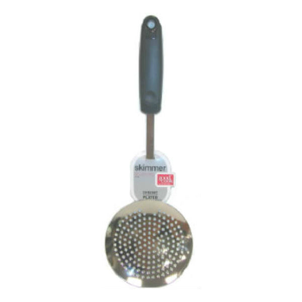 Good Cook™ 25738 Skimmer and Strainer, Chrome Plated, 12""