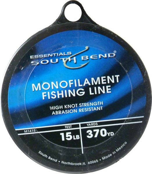South Bend® M1415 Monofilament Fishing Line, 15 Lbs Test, 370 YD