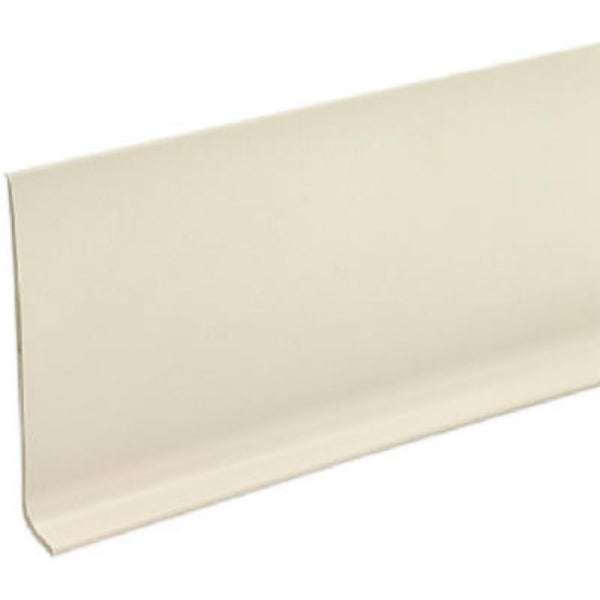 "M-D® Building 75275 Vinyl Cove Wall Base with Dry Back, 4"" x 4', Almond"