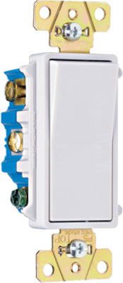 Pass & Seymour Premium Decorator 4-Way Switch, 15A, 120/277V, White