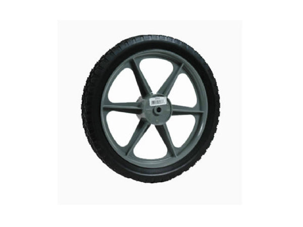 Arnold® 1475-P Spoke Mower High Wheel with Rubber Tire, 14""