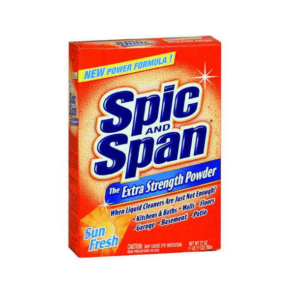 Spic & Span 00190 Extra Strength Dilutable Powder, Sun Fresh, 27 Oz