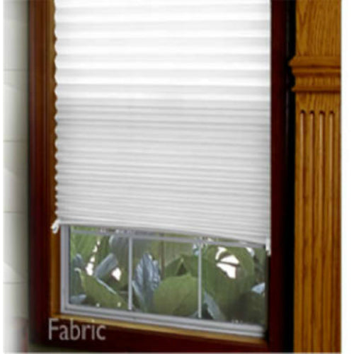 Redi Shade™ 3682513 Non Woven Fabric Instant Pleated Window Shade, White