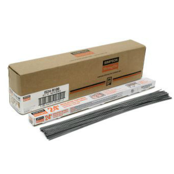 "Simpson Strong-Tie IS24-R100 Insulation Support, 24"" OC, 14 Gauge"