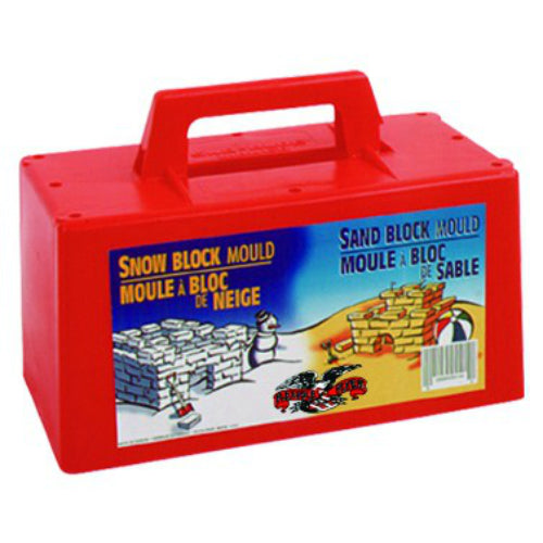 "Paricon 605 Plastic Snow & Sand Block Maker, Ages 3 and Up, 10"" x 5"" x 7"""
