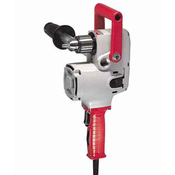 "Milwaukee® 1675-6 Hole-Hawg® Drill, 300/1200 RPM, 1/2"" Capacity, 7.5A"