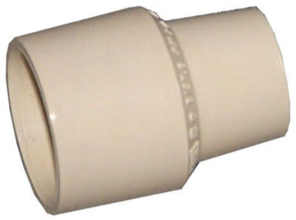 "Genova 50175 CPVC Reducing Coupling, 3/4"" x 1/2"""