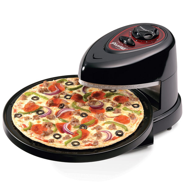 Presto 03430 Pizzazz Plus Rotating Oven, 1235 Watt, 120 Volts AC