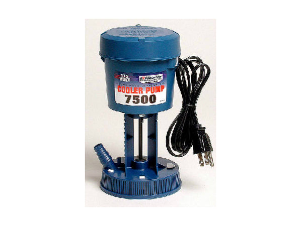 Dial Mfg 1175 Residential Concentric Pump fits Champion Coolers, 115V, 7500 CFM