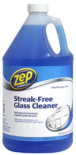 Zep Commercial ZU1120128 Streak-Free Glass Cleaner, 1 Gallon
