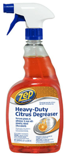 Zep Commercial ZUCIT32 Heavy Duty Citrus Degreaser, Ready To Use, 32 Oz