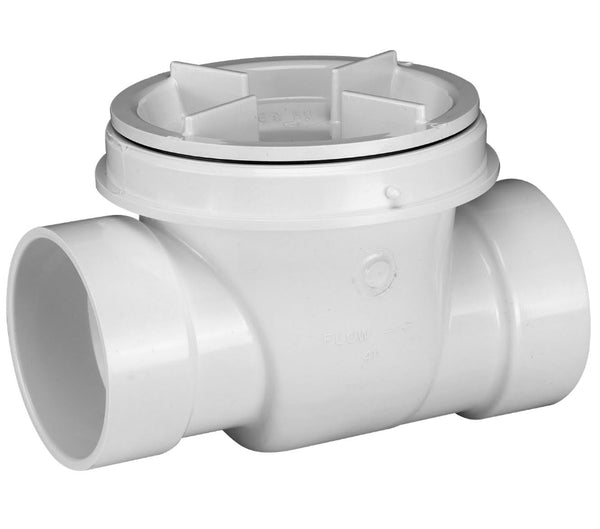Oatey® 43904 PVC Backwater Valve, 4""
