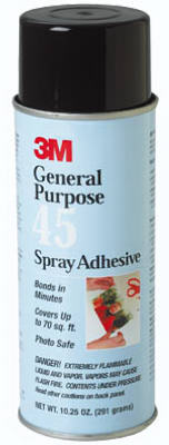 3M 45 General Purpose Spray Adhesive, 10.25 Oz