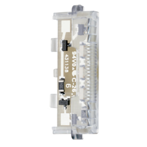 Pass & Seymour TM8LMCC8 LS-Series Dimmer Snap-In Light Module, Clear, 15A