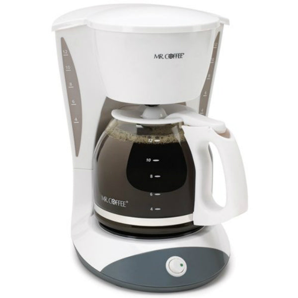 Mr. Coffee® DW12-NP Simple Brew Switch Coffee Maker, 12-Cup, White