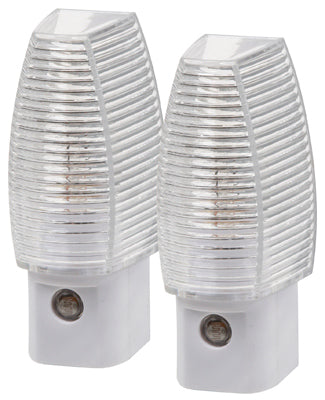 Amerelle 71253 Manual On/Off Night Light, 4-Watt, 2-Pack