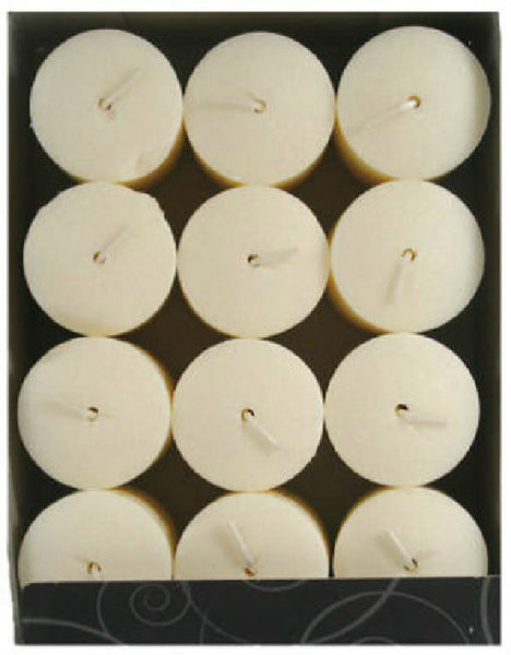 "Candle Lite® 1276570 Everyday Creamy Vanilla Swirl Votive Candle, 1.5"" x 2"""