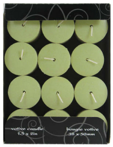 "Candle Lite® 1276170 Everyday Fresh Melon Slice Votive Candle, 1.5"" x 2"""