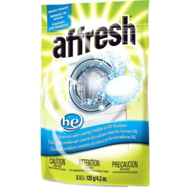 Affresh® W10135699 Washer Cleaner for High-Efficiency (HE) Washers, 3 Puck